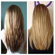 Pin On V Shape Hair With Short Layers