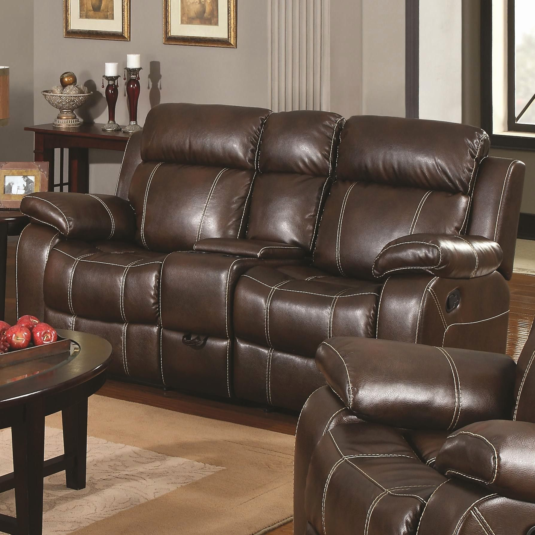 Idea Leather Reclining Sofa And Loveseat Photographs Nice