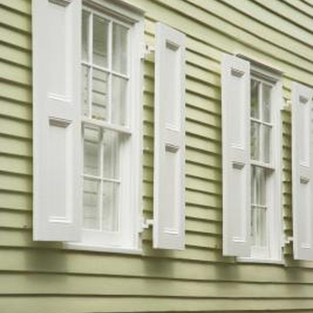 What Kinds Of Hooks Can You Use On Vinyl Siding Ehow Vinyl Siding Vinyl Shutters Vinyl Siding Colors