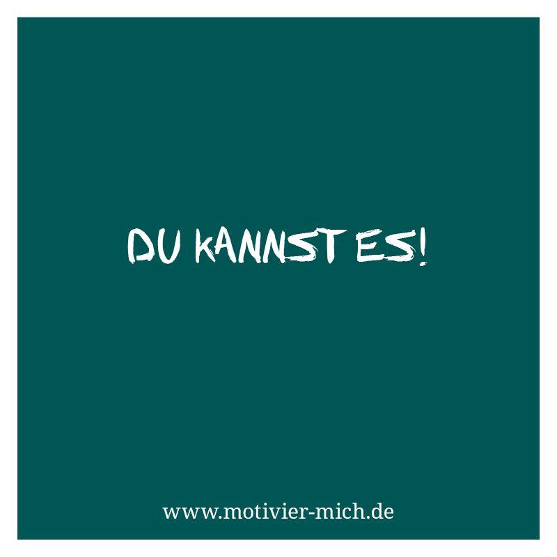 Du Kannst Es Motivation Words Spruch Crossfit Functional