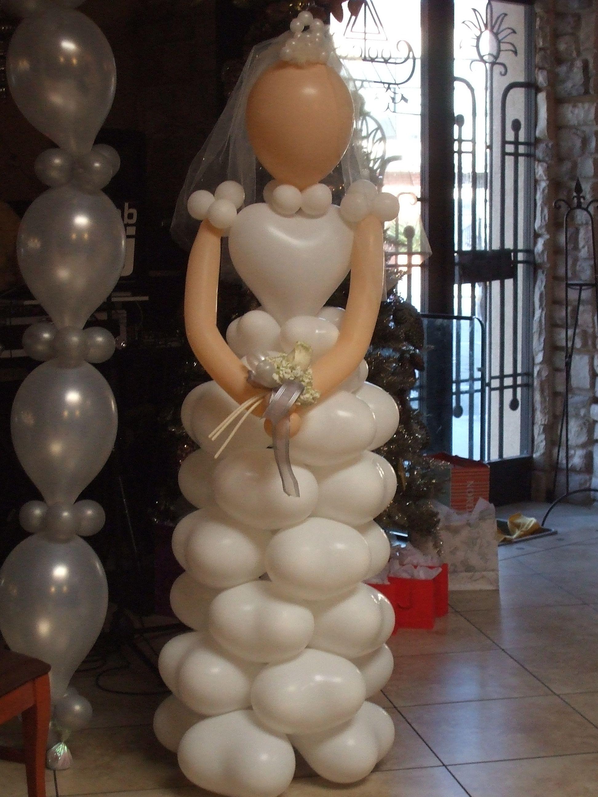 cute bride balloon for a bridal shower