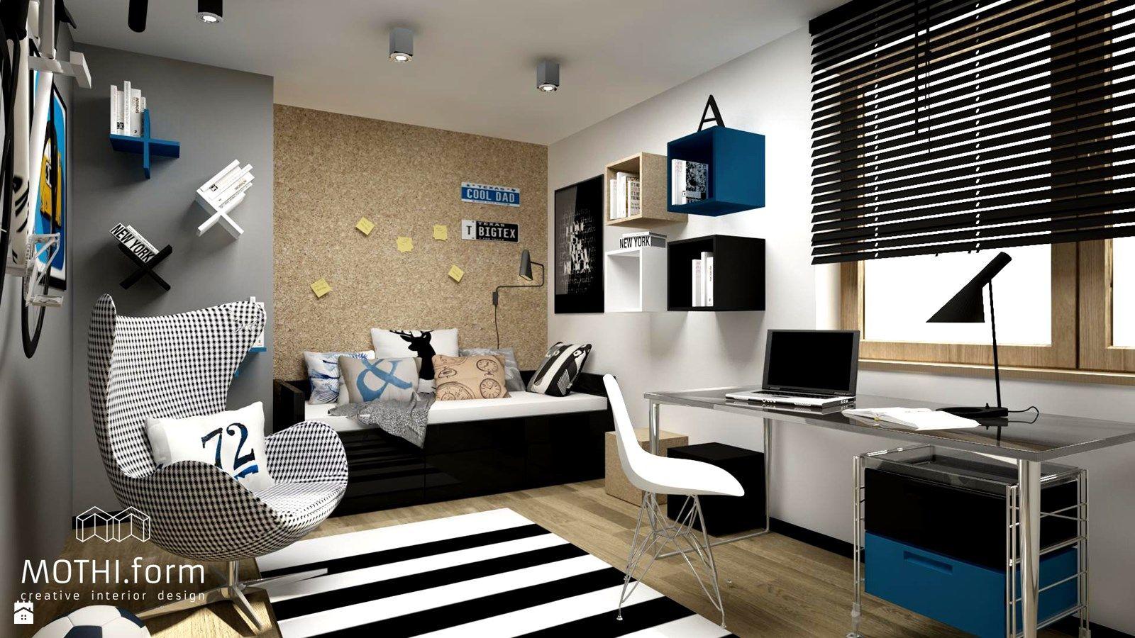 pok j dla ch opca zdj cie od pok j dziecka styl nowoczesny. Black Bedroom Furniture Sets. Home Design Ideas