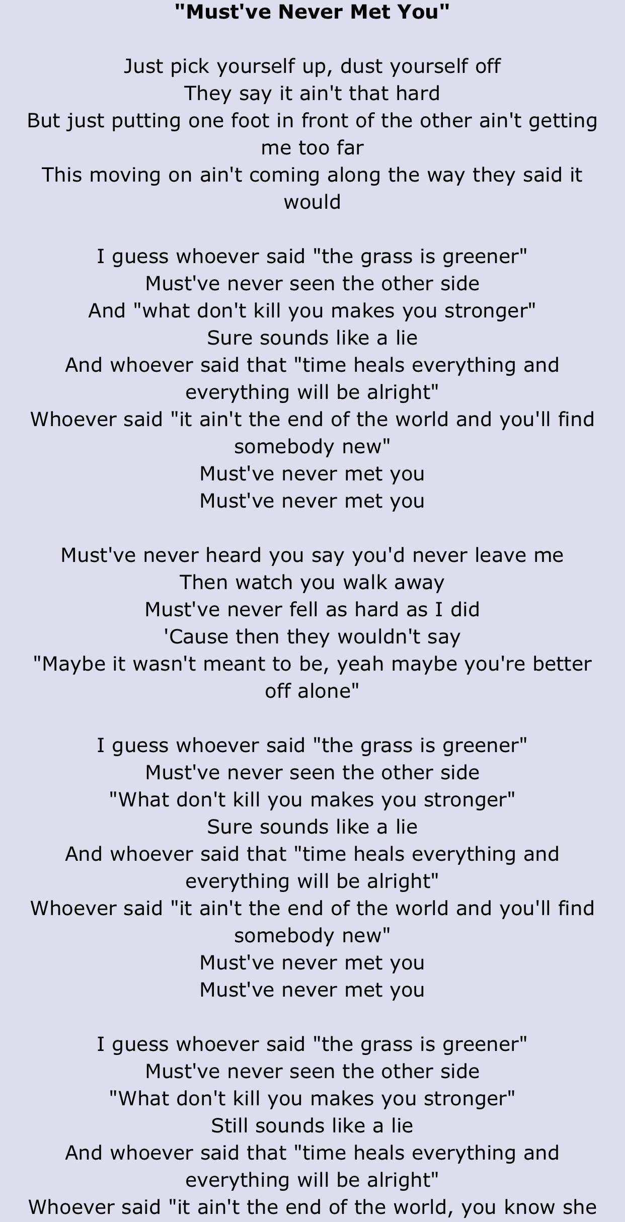 Pin By Brennen Wong On Lyrics Country Music Lyrics Song Captions Luke Combs Lyrics