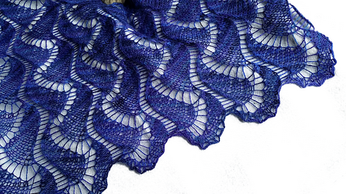 Free pattern for Kelvin-Helmholtz Wave | Knit/Crochet: Lace | Pinterest