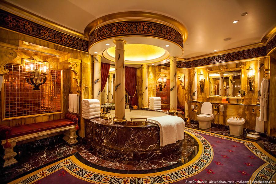 the most expensive room in a seven-star hotel burj al arab this is