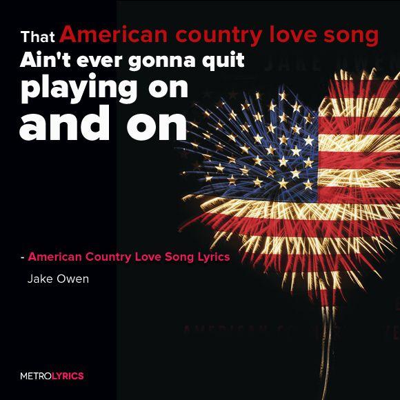 Jake Owen American Country Love Song Lyrics And Lyricart In