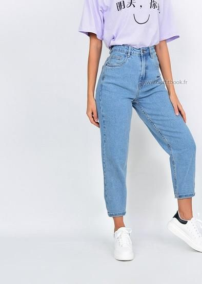 2020 Women Jeans Boys White Jeans Jins Pant Jogging Jeans Rosewew Em 2020 Moda Adolescente Looks Vintage Femininos Looks Tumblr Feminino