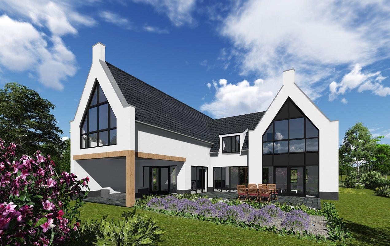 Royale moderne villa met een luxe indeling for Moderne villa architectuur