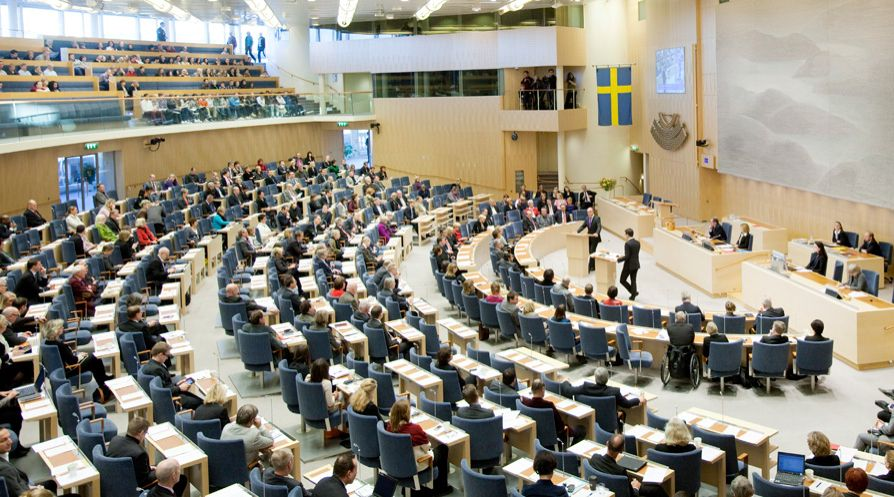 Sweden Riksdag Riksdagen Or Sveriges Riksdag