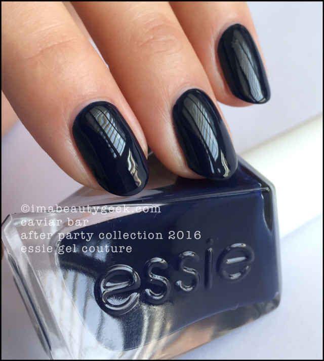 Essie Caviar Bar | color | Pinterest | Esmalte, Verano y Negro