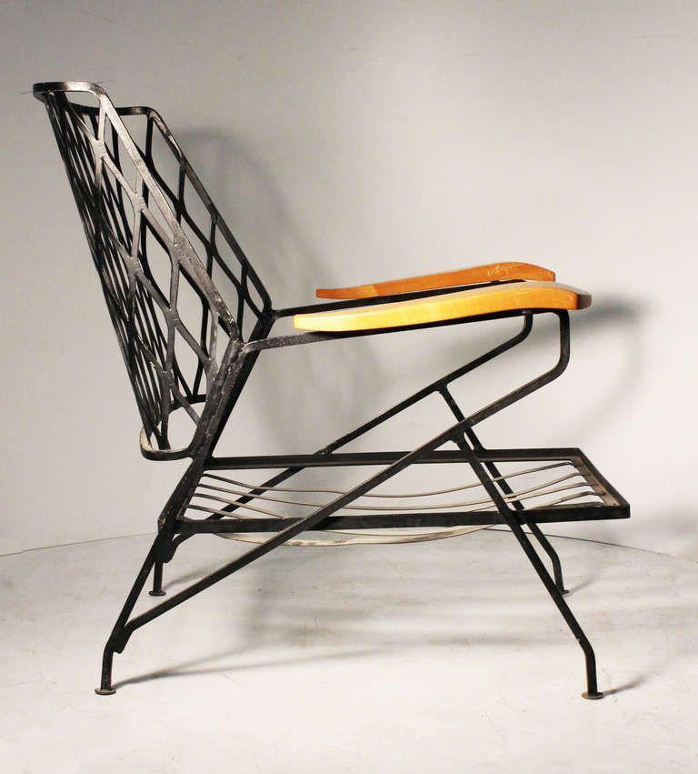 Pair of Salterini Armchairs / Lounge Chairs by Maurizio Tempestini ...