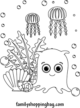 40 Finding Nemo Coloring Pages - Free Printables | Finding nemo ... | 350x259