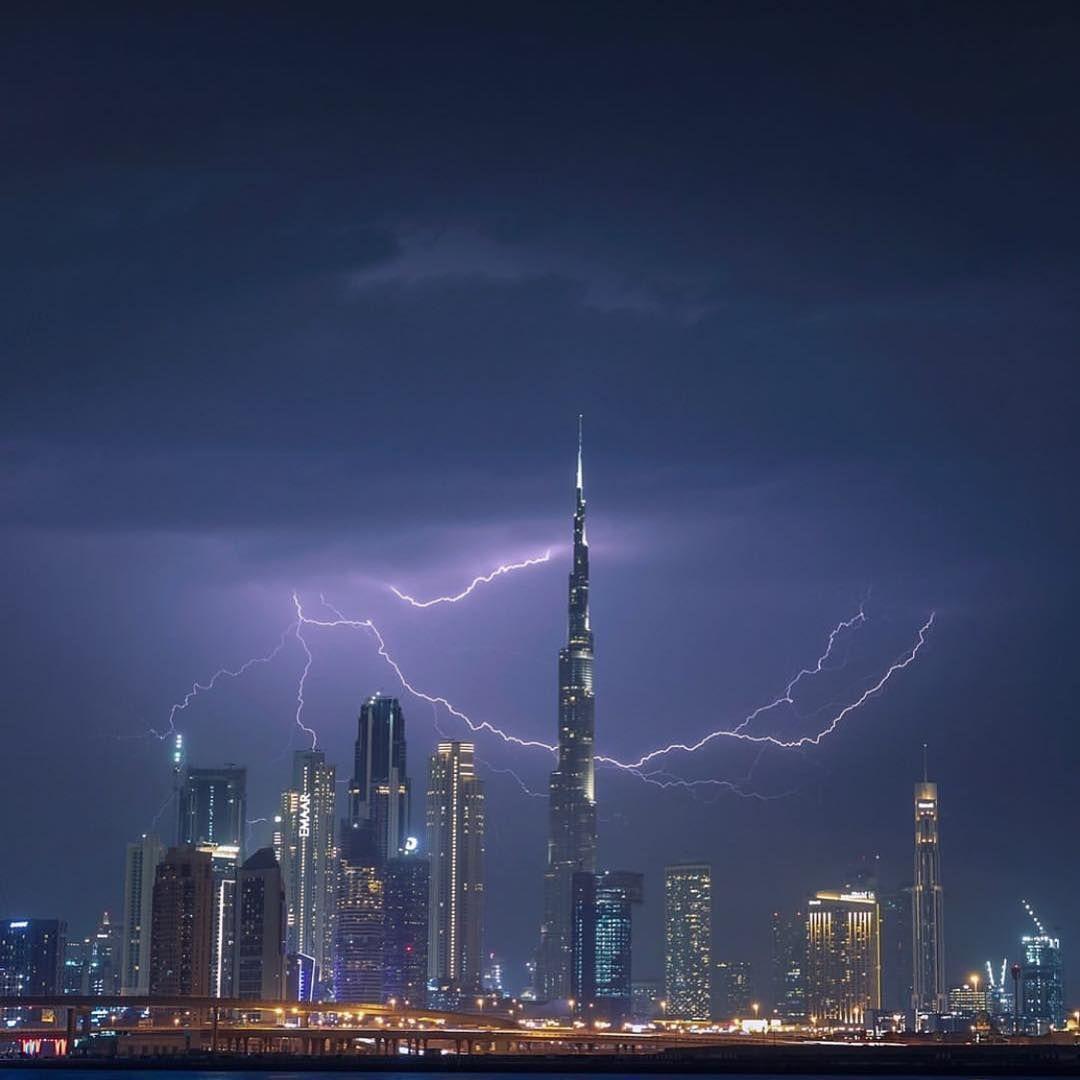 Image May Contain Night And Sky Coastal Deco Dubai Palm Islands