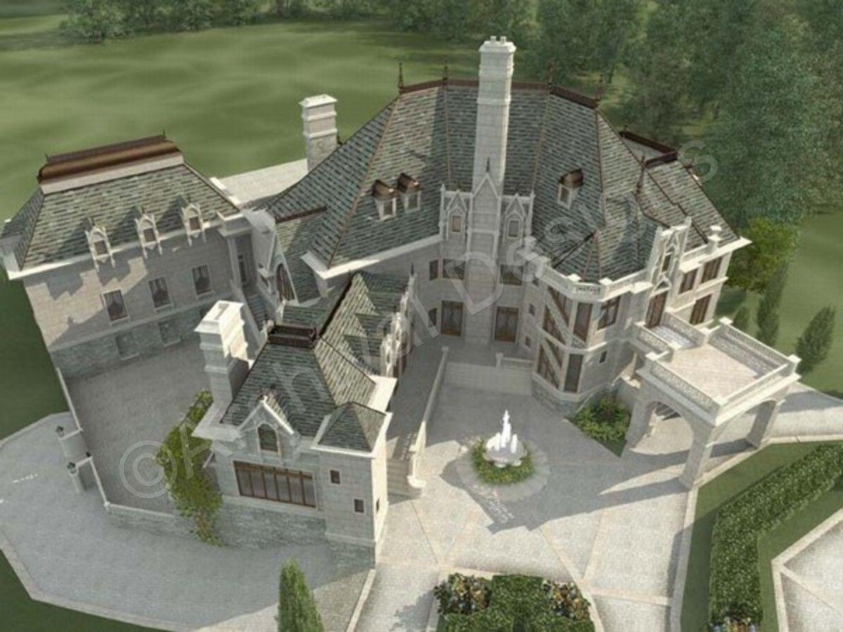 Chateau Novella House Plan Castle Plans Castle House Plans Luxury House Plans