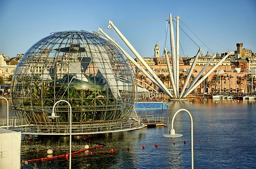 Genoa, Italy is home to Europe's largest aquarium, the Acquario di Genova, and is Italy's 3rd most visited museum.
