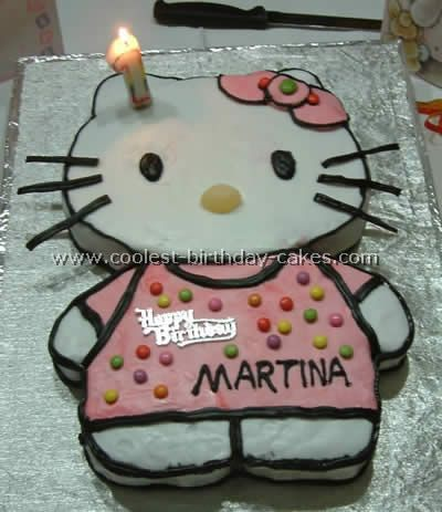Coolest Hello Kitty Cakes Hello kitty cake Kitty cake and Hello kitty