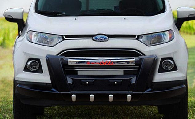 Front Nudge Guard Evolve Goldsun Auto P Ltd Manufacturers Of Quality Auto Accessories At Goldsun We Manufacture Various R Ford Ecosport Car Ford Ford