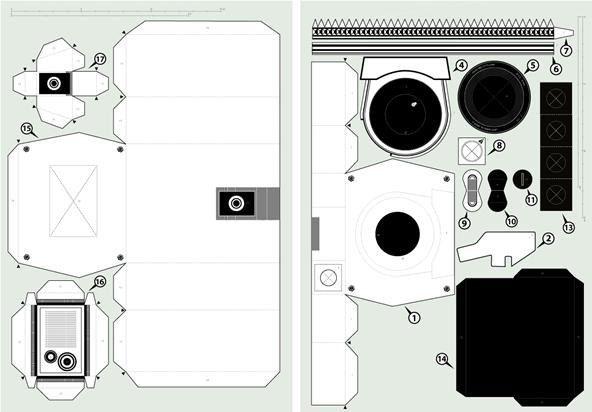 How To Make A Papercraft Rolex Watch Camaras De Papel Camaras