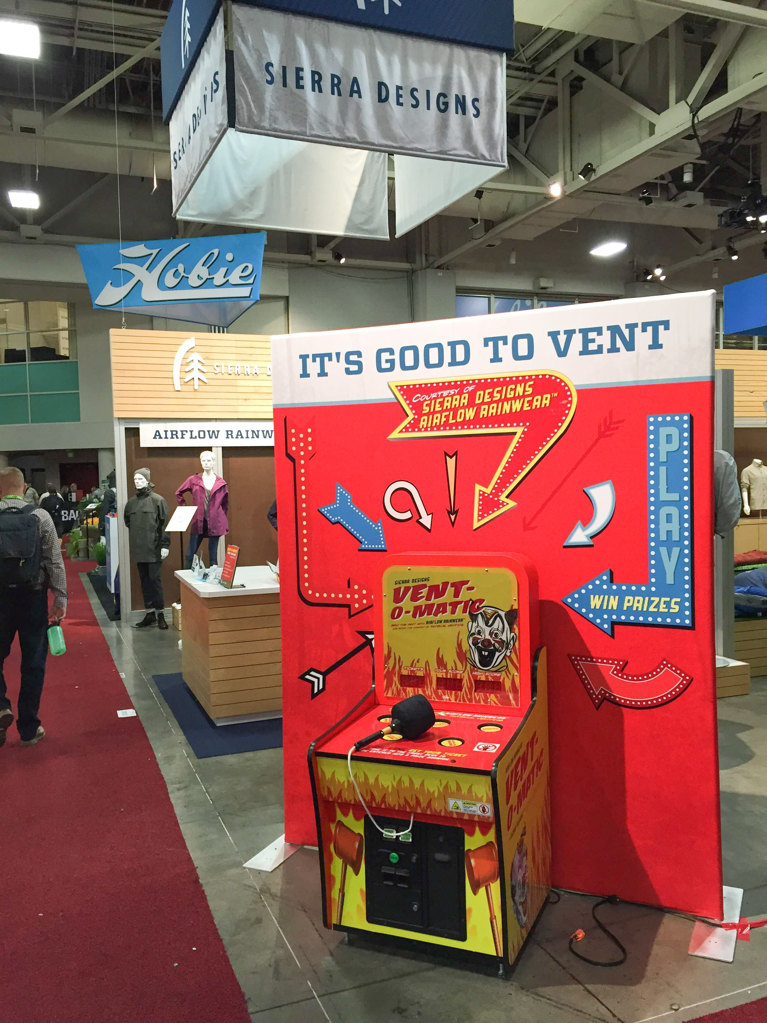Trade Show Booth Games : Great customization of retro whac a mole game with trade