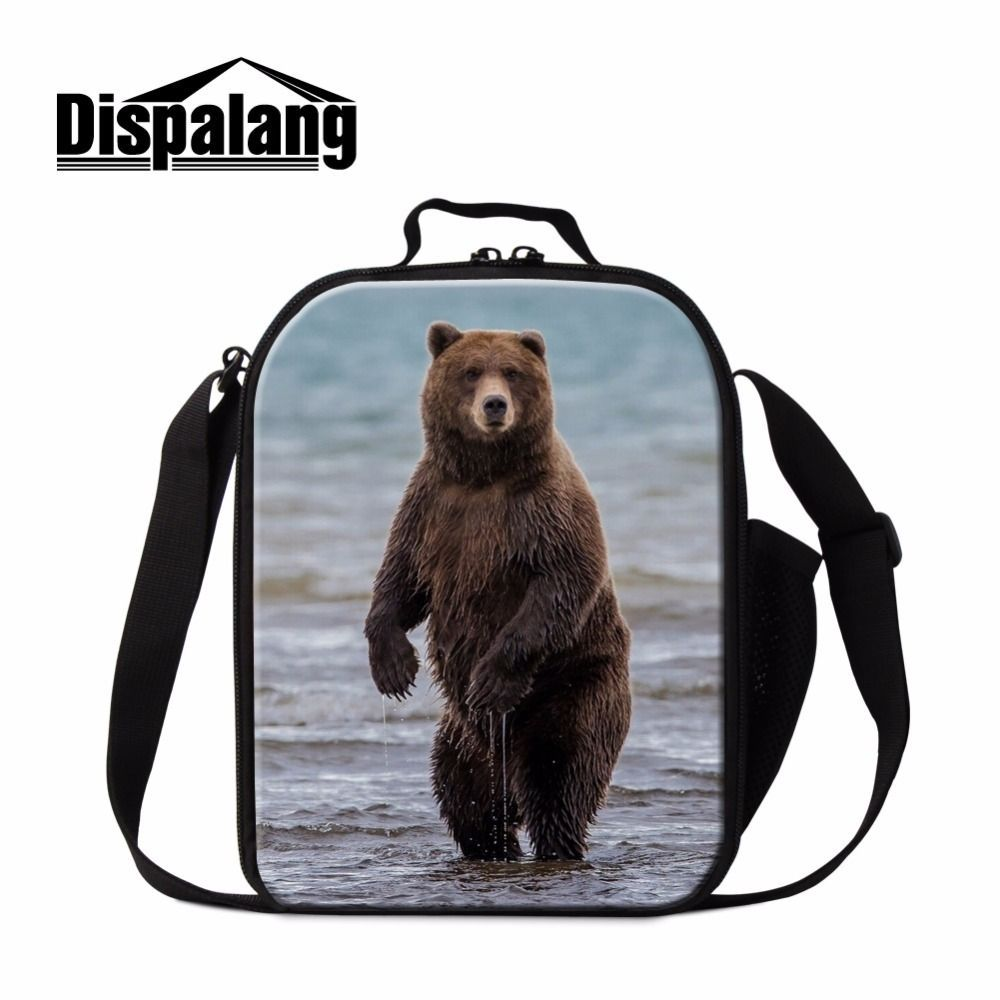Dispalang 3D bear kids cooler lunchbox for school family picnic food container bag for women mother multi-function meal package #familypicnicfoods Dispalang 3D bear kids cooler lunchbox for school family picnic food container bag for women mother multi-function meal package #familypicnicfoods