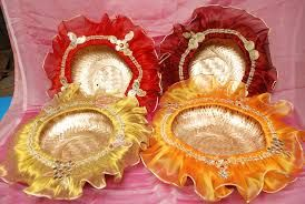 Tray Decoration Ideas Awesome Image Result For Indian Engagement Tray Decoration Ideas  Viji Design Decoration