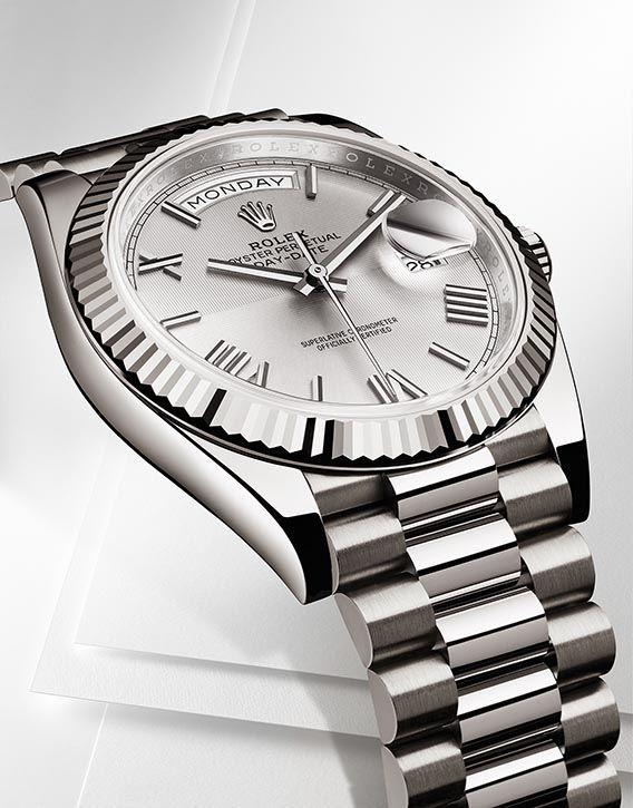La Cote des Montres : La montre Rolex Oyster Day-Date 40 - La nouvelle génération de son plus prestigieux modèle