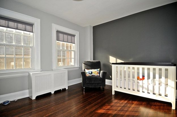 Light Grey Walls With Blue Accent Wall Google Search Grey