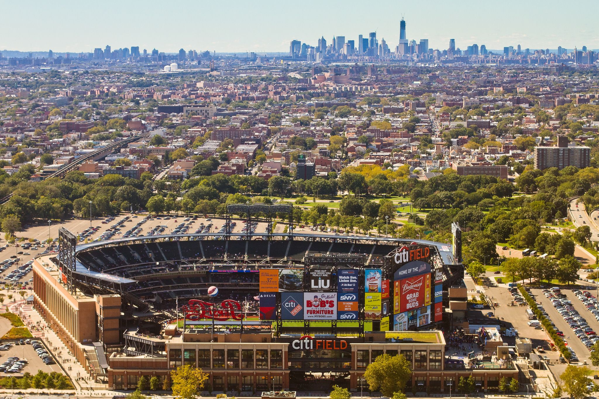 Citi Field Travel Sights Baseball Park Queens Nyc