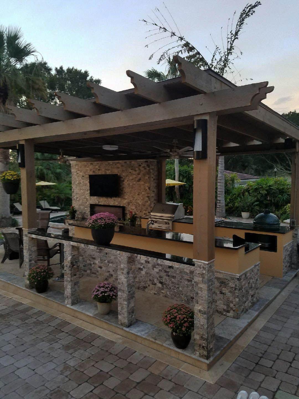 Outdoor Kitchen Design Outdoor Kitchen Design diy Outdoor ...