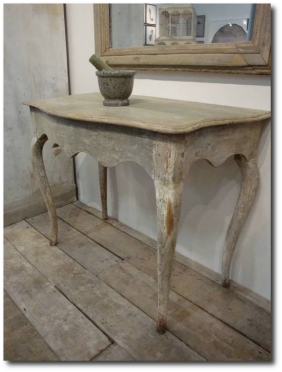 Distressed Console Table Keywords Gustavian Gustavian Furniture