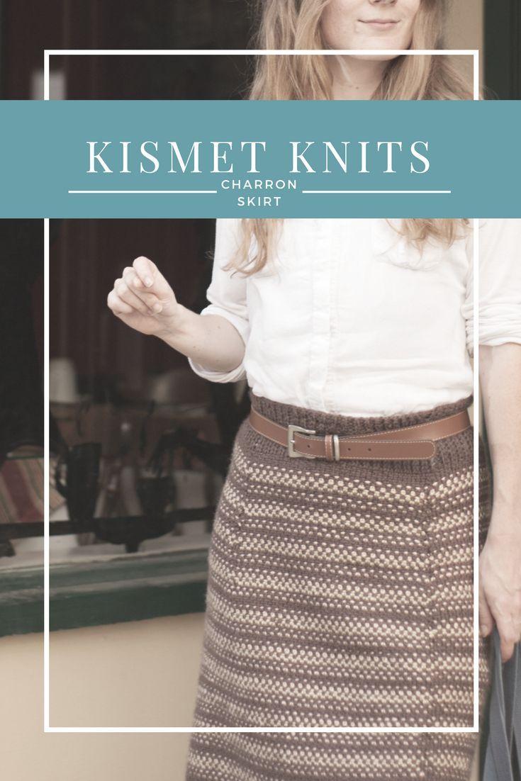 Photo of Charron Skirt Knitting Pattern