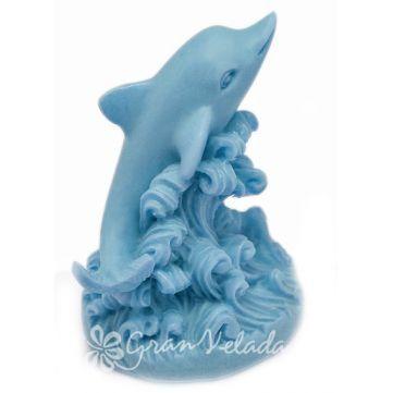 Molde jabón, Delfín 3D