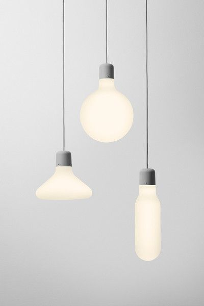 Set of 3 - Design House Stockholm Form Pendant Lamps
