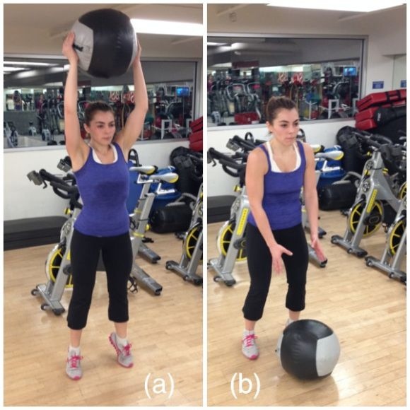 Medicine ball slams. Finding your fit place. http://findingyourfitplace.com/2014/02/03/workout-full-body-circuit/
