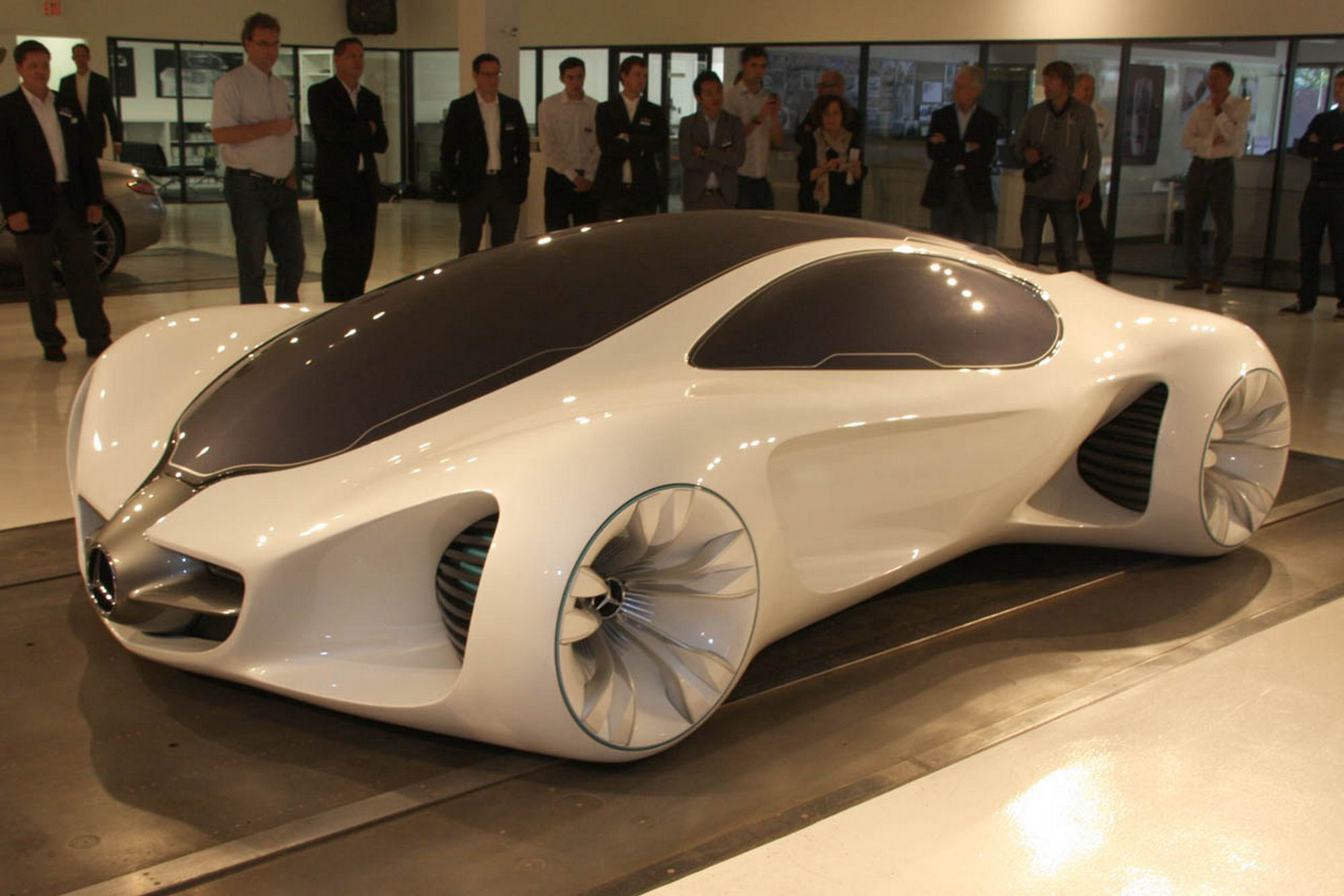mercedes benz 2050 biome concept car. call me when these hit market