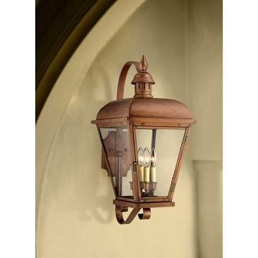 Ancaster 26 1 2 High Copper Outdoor Wall Light Wall Lights Outdoor Wall Lighting Light