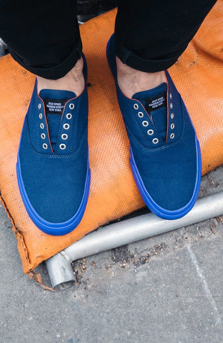 ac5998ab245619 Sperry x Jack Spade Cloud CVO in Navy Canvas
