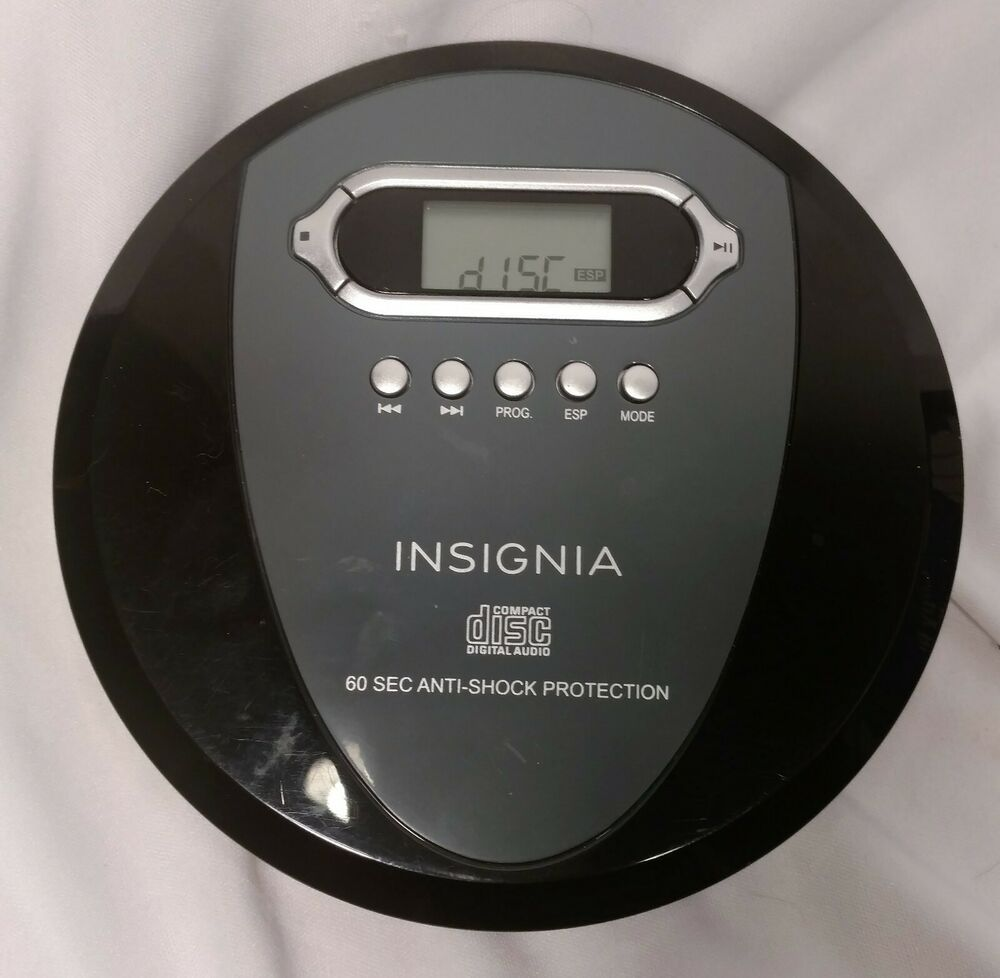 Insignia NS-P4112 Portable CD Player with Skip Protection for CD CD-R,...