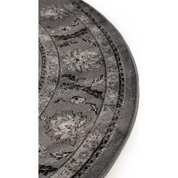 Photo of benuta Classic Teppich rund Velvet Anthrazit ø 160 cm rund – Vintage Teppich im Used-Lookbenuta.de