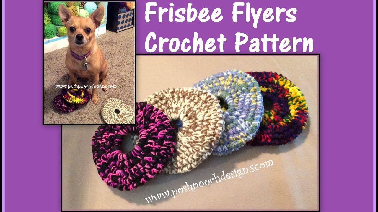 Frisbee Flyer Crochet Pattern | crochet | Pinterest