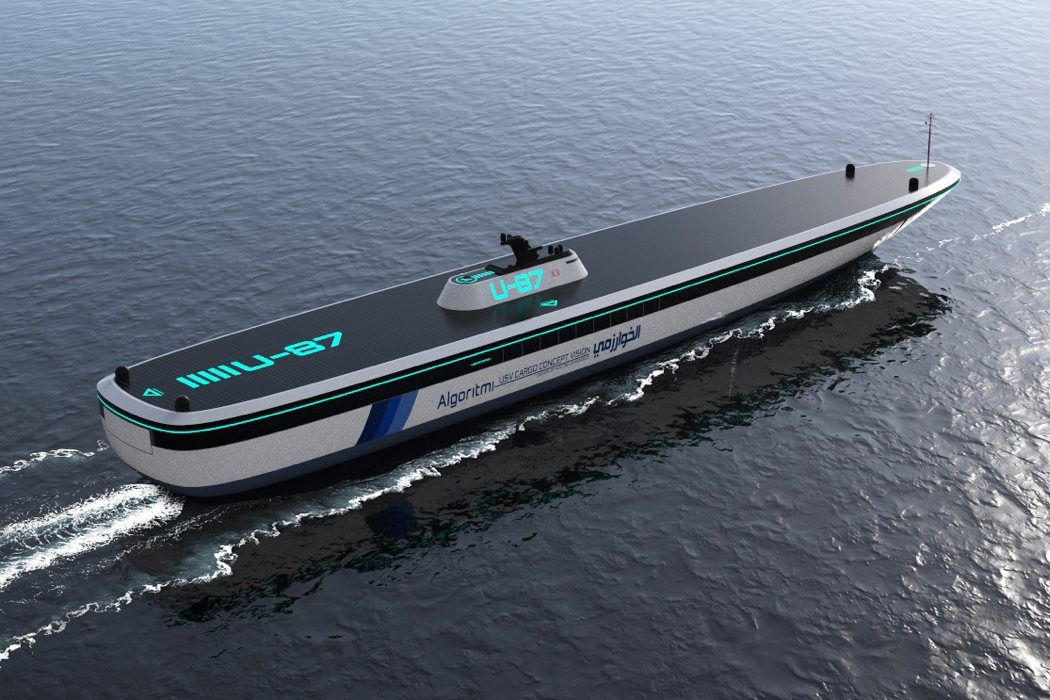 Autonomous Ships of the Future | Boat, Boat design, Concept ships