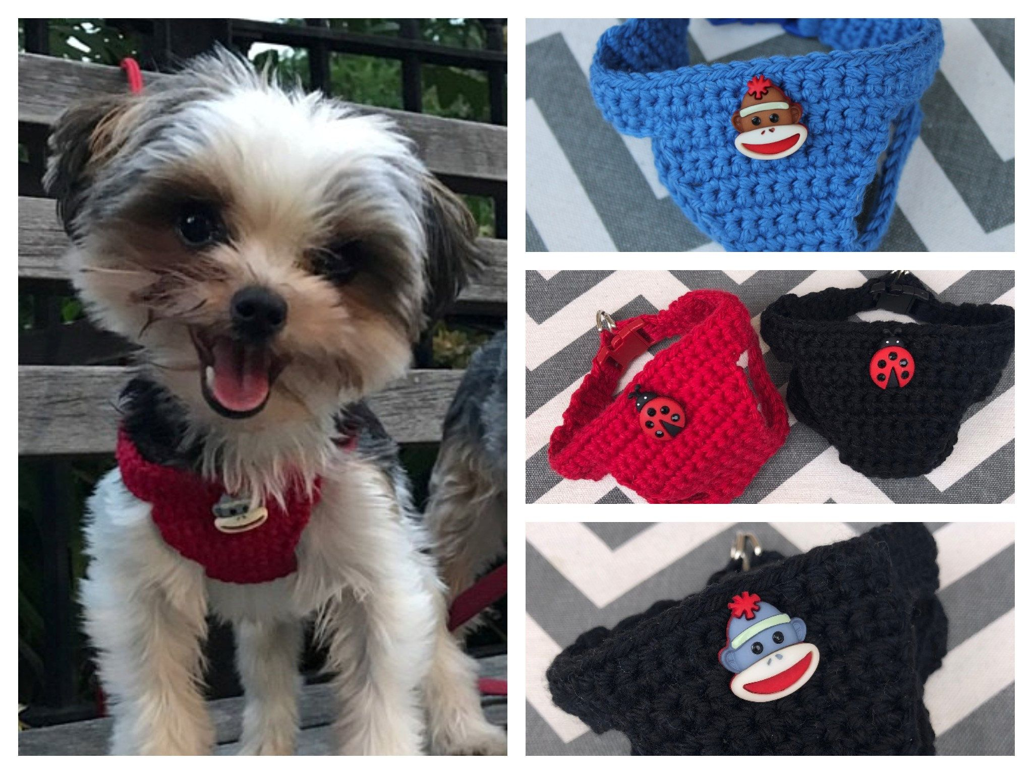 Tiny Dog Puppy Harness 2 Lbs Xxxs Xxs Soft Cotton W Button Chihuahua Yorkie Maltese Shih Tzu Pomeranian Maltipoo Teacup Kitten Puppy In 2020 Puppy Harness Teacup