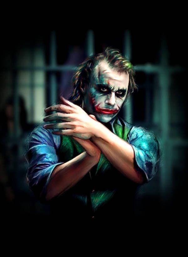 Batman Joker 3d Wallpaper 1 Joker Portre