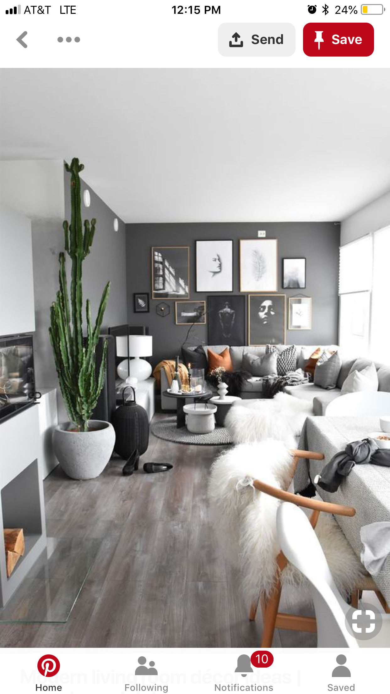 Gallery Wall Ideas Black Walls Living Room Dark Grey Living Room Living Room Grey #wall #decoration #for #small #living #room
