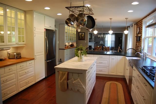 Painted White Cabinets Vs Thermofoil
