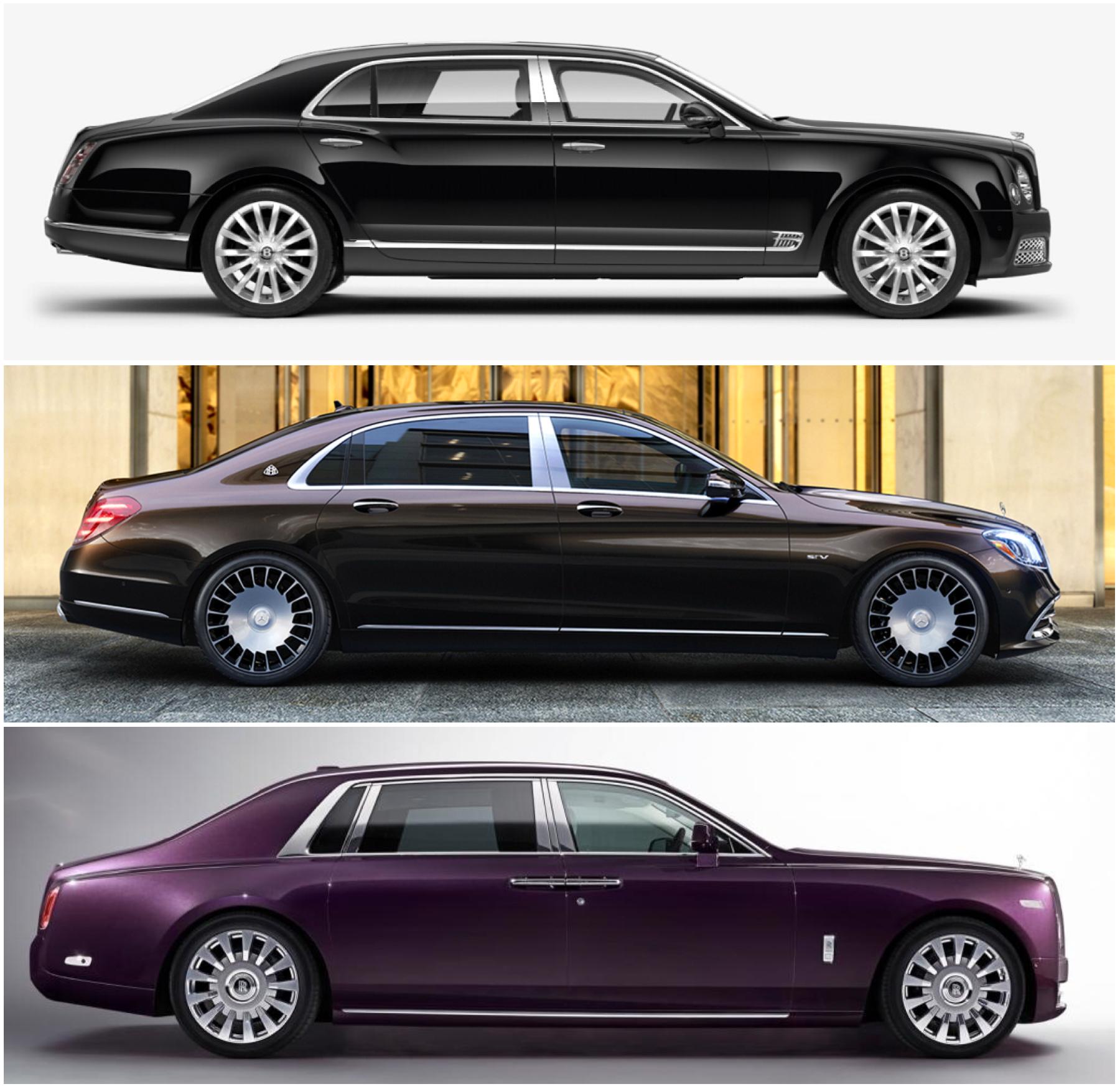 Choose Top: Bentley Mulsanne LWB Middle: Mercedes Maybach