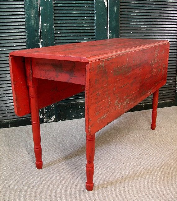 Pictures Of Red Primitive Kitchens