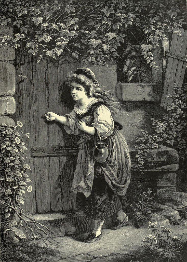 Eugene Joseph Lejeune (1818-1897), Little Red Riding Hood