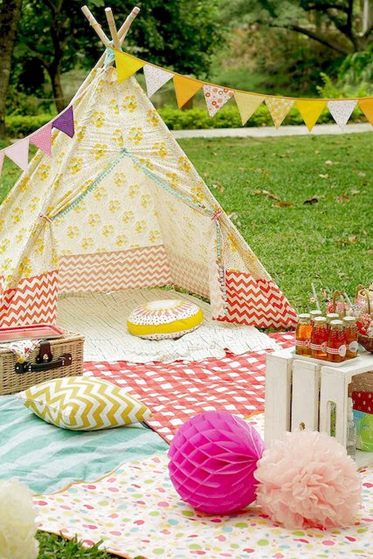 63 Cool Outdoor Summer Party Decorations Ideas | Summer ...