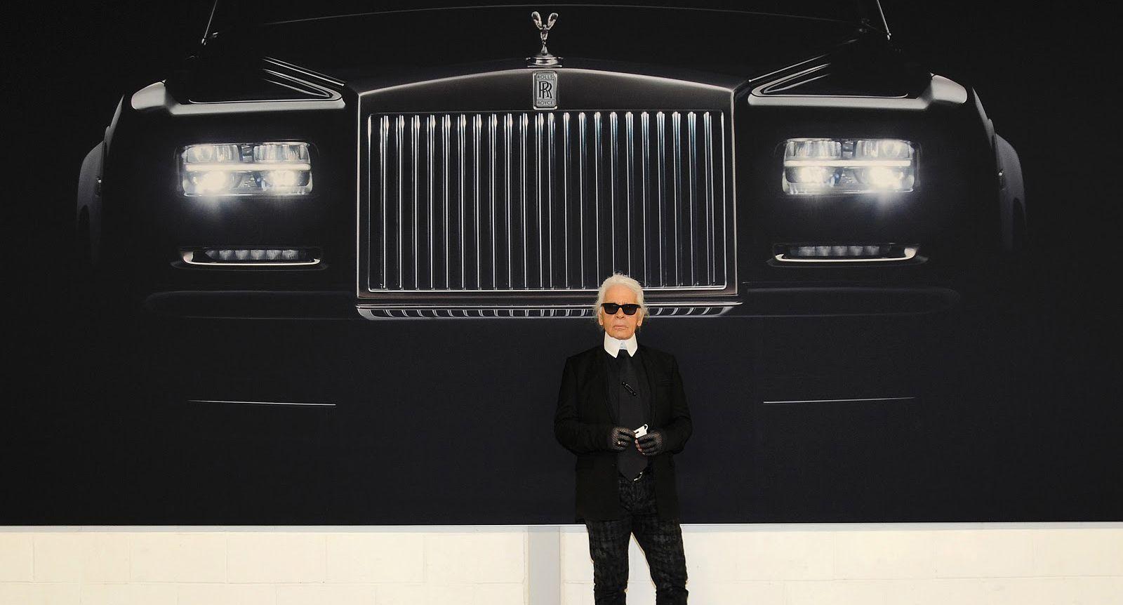 Rolls-Royce, tras la lente de Karl Lagerfeld